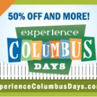 Experience Columbus Days – Take the Kids Out Oct. 8 – 11 and Save Some Cash!